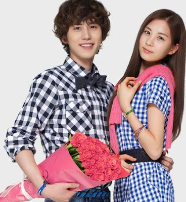 seohyun in blue