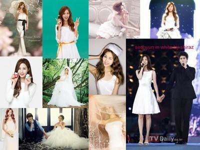 seohyun in white