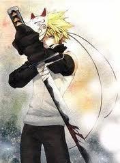Name: Blaze Age: 16 Looks: Blonde hair and blue eyes, always wear the same uniform Powers: Fire, এল-মৃত্যু পত্র
