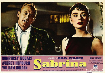 S - Sabrina. The name of the movie.