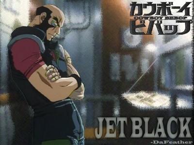 J - Jet Black (Cowboy Bebop)