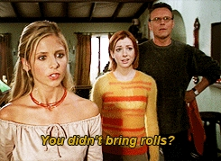Buffy is upset with আপনি guys! xD BBL LLAP :]