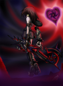 This is Saxhra&#39;s DARK Kairi Form.<br />