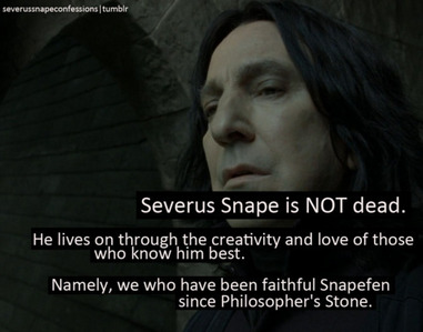 I was so angry about the way DH2 changed the ending so that Harry never vindicated Severus in front o