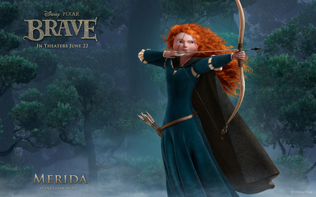 Now we have already seen many Brave trailers, and I see that Merida is pretty too, even prettier than