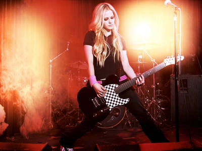 how about this? okay guys, get ready... I want Avril in the studio.. gud'luc