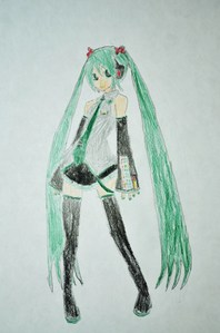 Vocaloid name:Hanshane (reflection and sound) Zennaka (full and of)  Gender:Female Age:16 Number:007