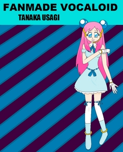 Vocaloid Name: Usagi Last name: Tanaka Gender: Female Age: 16 Number: 19 Hair Color and Style: L