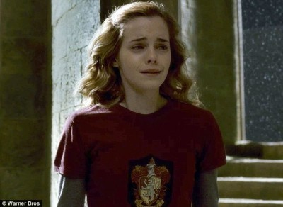 Next round - Hermione crying