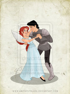 Since this is for the Princes I found one of Ariel and Eric. (Photo done by: amithystblade on deviant