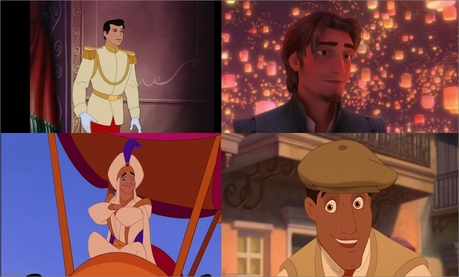 It is so difficult to put only three. I would put my favorit four Prince Charming Eugene Fitzher