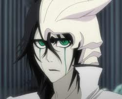 i would 愛 for あなた to draw me with ulquiorra schiffer form bleach i have long black hair and eyes,