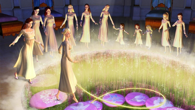 New kids cartoons barbie 12 dancing princesses full movie - Barbie 12 princesse ...