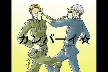 Prussia, anybody?  The one on the right. XDDD