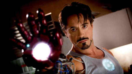 RDJ as Tony Stark