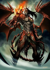 Name : Kami Kami no mi mohan Tenma ( God God fuirt Model Demon ) Type : Mythical Zoan type A