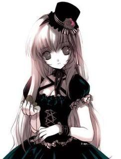 Name: Luna Age:15 Gender: Female Height: 5'4 Power: Darkness Personality: Childish, serious,smart, an