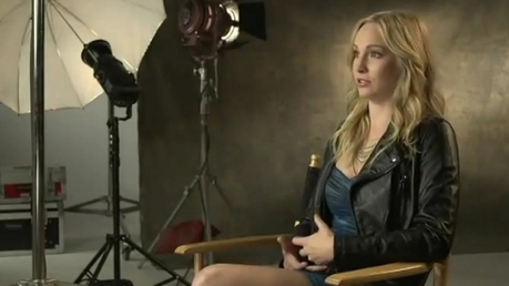 282: Candice wearing a wig :)