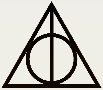 Day 10: Hallows. After all there is one hallow that always helped our three heros since the beginning