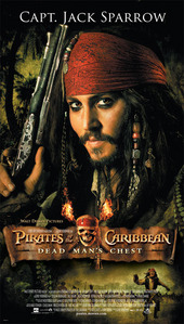 1. Pirates of the caribbean dead mans chest