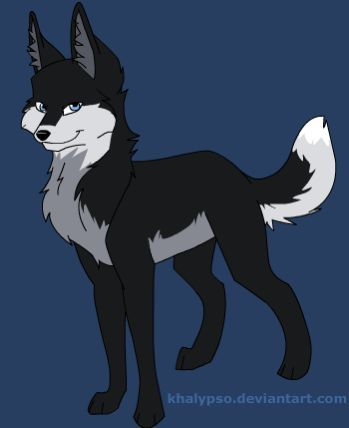 name: Moonshadow age: 15 gender: female skills: cunning hunter and very clever appearance: dark gray,