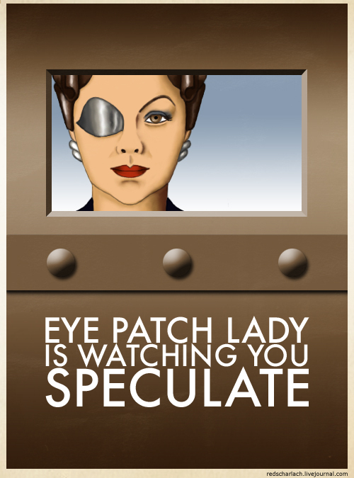 Dr who eye patch lady