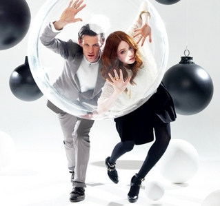 Funny Merlin!  (sorry, my one's gonna be Doctor Who)  Karen Gillan or Matt Smith?