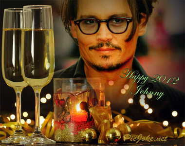 Deppheads!!!!! The año 2011 is ending. We wish to Johnny and his family a happy New Year.