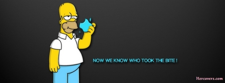 Funny Homer Simpson Facebook cover for your Facebook timeline. if your a true simpsons fan upload the