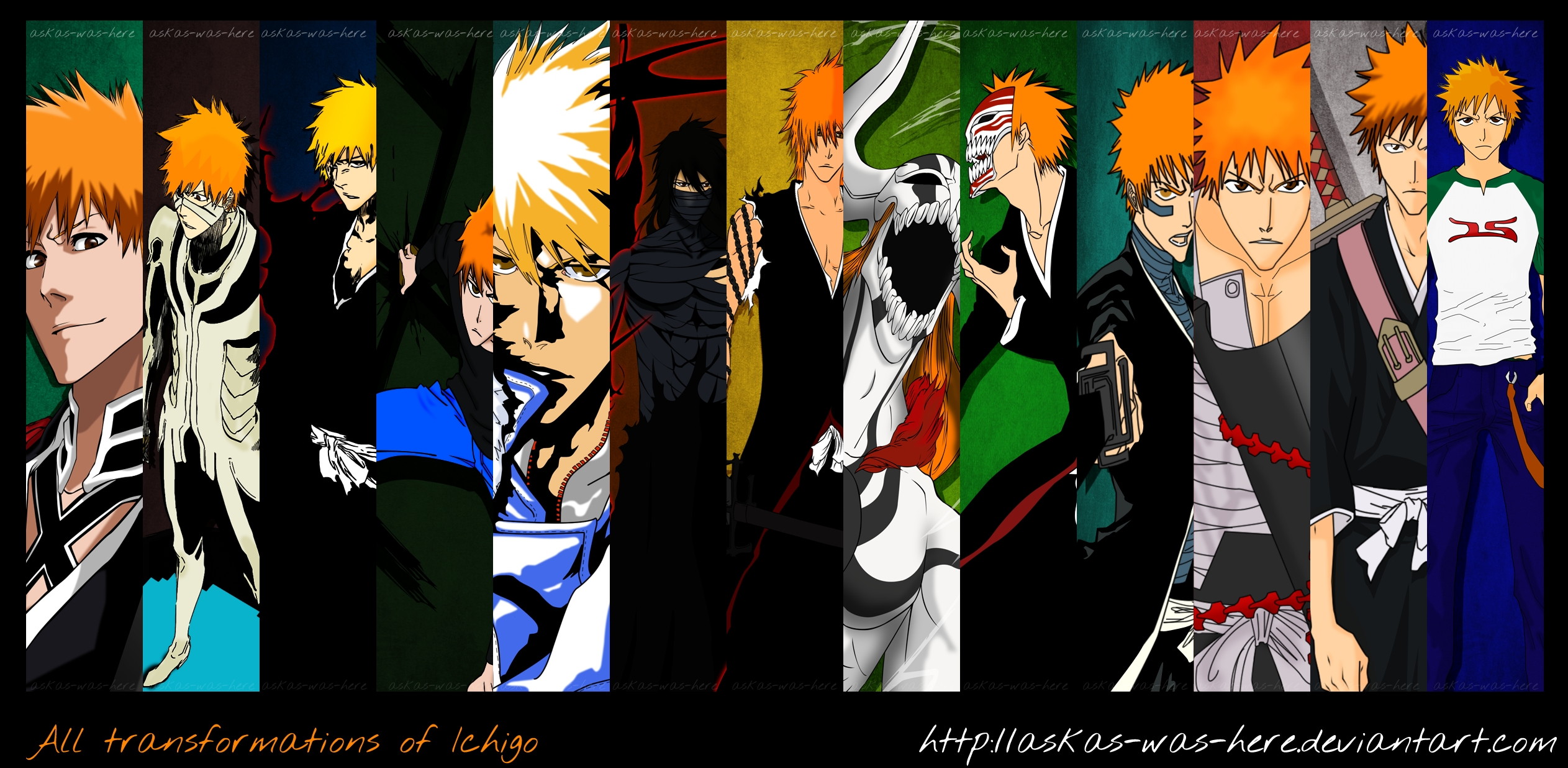in a fight betwen all of ichigos froms witch would come out on top ...