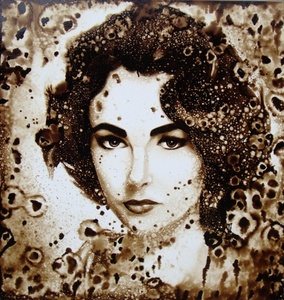 "Edward Walton Wilcox is famous for his series of sepia-toned paintings titled, ""Icon."" Alluding to t"
