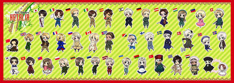Pick ANY character from Hetalia that you want, so long as it isn't taken yet. The first one taken i