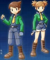 You wake up and go downstairs when you see a Pokemon Ranger Academy commercial. Two Top Rangers, Kate