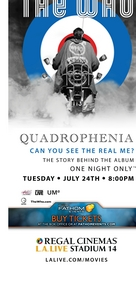 The Who Quadrophenia The Story behind the album, playing one night only Tuesday, July 24, 2012, 8:0
