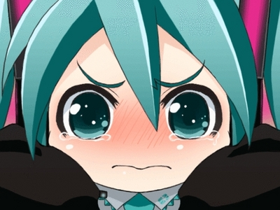 It's truly sad to know there is rivalry in Vocaloids. I cinta Miku, but some people don't understand.