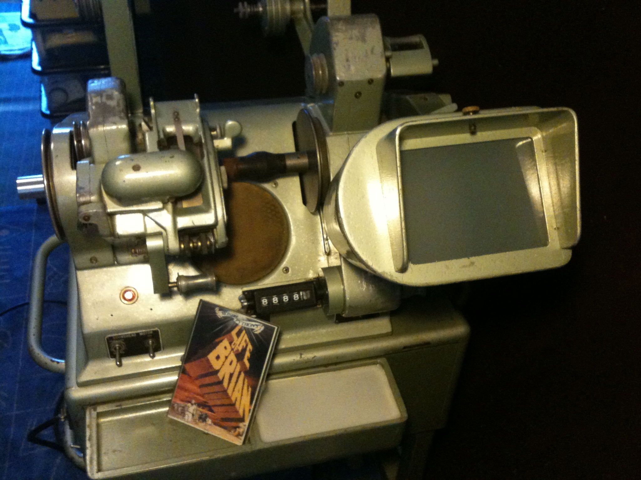moviola machine