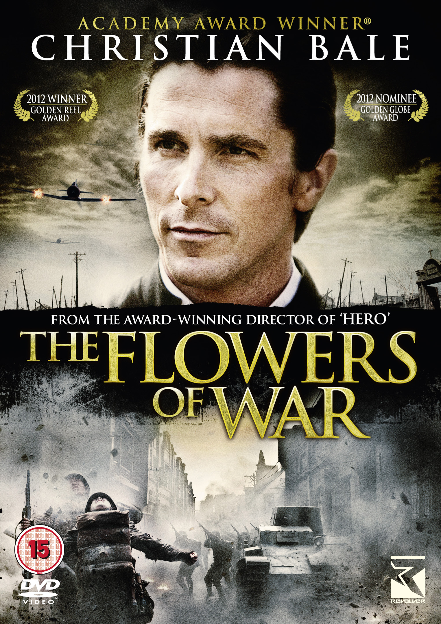 CHRISTIAN BALE WAR EPIC 'THE FLOWERS OF WAR' TO RECEIVE UK RELEASE BY REVOLVE