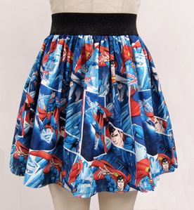 Here is a cute Superman skirt for sale on Etsy for girls! I would rock this at comic con! http://ww