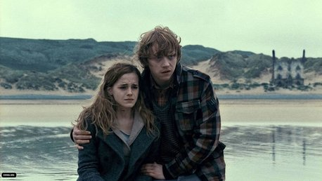 A countdown to 6000 粉丝 for Ron and Hermione!