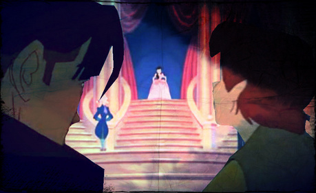 {She's Melody} Ariel; Melody Are u ready? Melody; I'm Ready. {*Crown falls off*} Ariel; hah, s