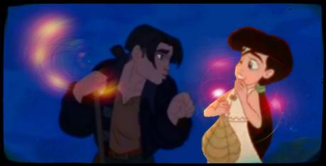 {He's so.. ♥} ÑAM! {*Prince & Melody Dance*} Jim; Taran I don't see anything.! Taran; look f