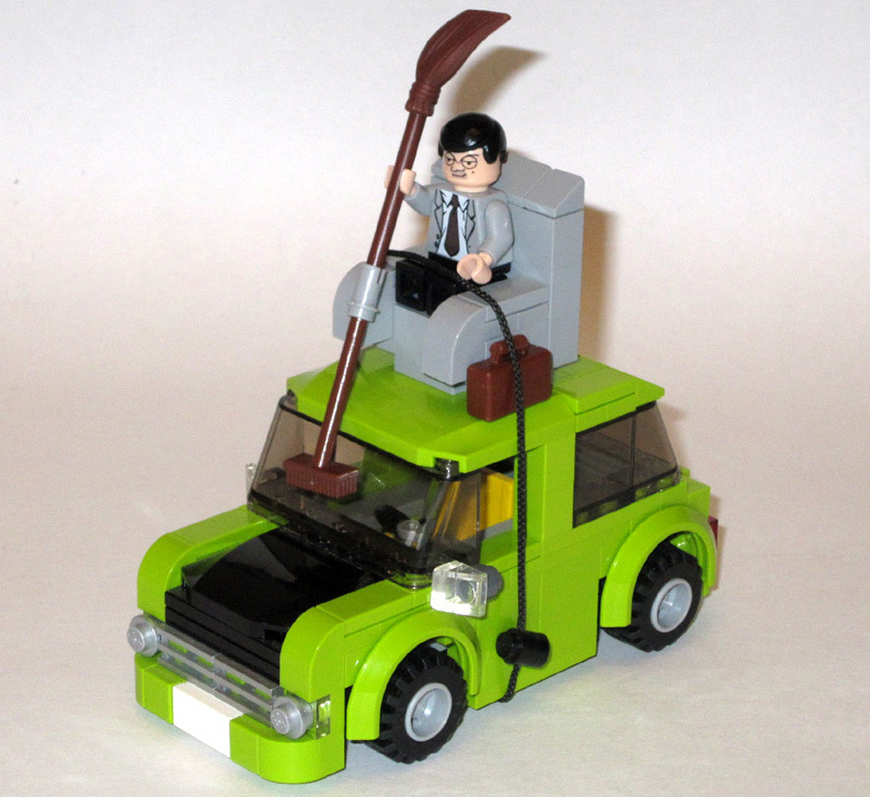 Lego Project Quot Mr Bean S Car Quot Mr Bean Fanpop