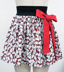 Here is an adorable hello kitty skirt for women for sale on Etsy!  http://www.etsy.com/listing/943083