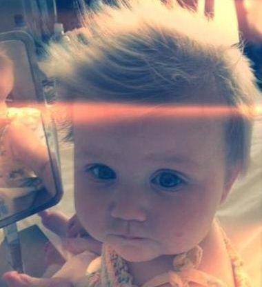 Its a Fanpop dedicated to One Directions Stylists baby Lux She's sooooo cute!!!!!! the One Direction