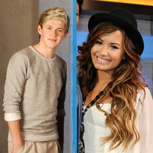 Demi Lovato and Niall Horan both admitted that they're totally crushing on each other! Demi berkata in a