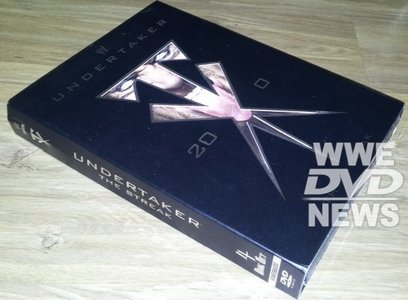 "In just over 2 weeks time WWE are releasing ""Undertaker 20-0: The Streak"" as a new DVD and"