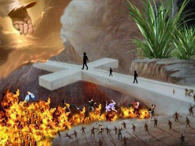 """hi Where do tu want to go ? """"Like"""" and """"Share"""" if Heaven """"Keep on Scrolling"""" if Hell """"Enter por th"""