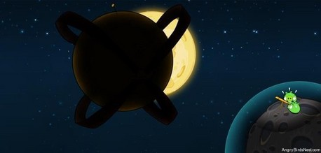 Not 6 Angry Birds That Launch To 宇宙 オレンジ Bird Will Out In To The 宇宙 Soon! It looks like a new