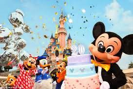 Everyone's joining Mickey & his fiends at Disneyland Paris celebrating their 20th Anniversary with Ma