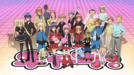 Shugo Chara~!!!! I love that anime X3 and Tadase..